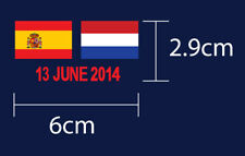 Spain Vs Netherlands World Cup 2014 Group Stage Netherlands Away Match Details
