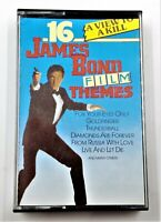 16 James Bond Film Themes Cassette Tape Discovery 67001 Made in Holland