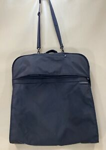 Briggs & Riley Black Travel Ware Classic Transcend Garment Cover Dress Suit Bag