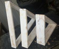 "Wandregal-Set ""Dreieck"", Massivholz, Maße: BxH 52-28x46-24cm, div. Farben"