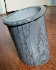 Vintage Georges Briard Marble Slanted Wine Holder, Ice Bucket, Chiller, Cooler