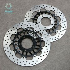 2x Front Brake Disc Rotor Set For TRIUMPH Sprint ST 1050 ABS 2005-2009