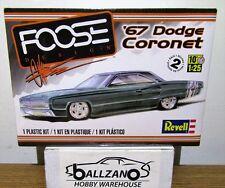 Revell Monogram 4906  1967 Dodge Coronet Foose plastic model kit 1/25