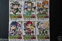 JAPAN Naruto: manga Rock Lee no Seishun Full-Power Ninden 1~6 Set