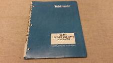 TEKTRONIX SG503 LEVELED SINE GENERATOR INSTRUCTION/SERVICE MANUAL