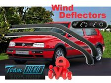 Wind deflectors VW GOLF III  MK 3  10/1991 - 1997 3.doors  2.pc  HEKO  31106