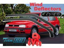 Wind deflectors VW GOLF III  MK 3  10/1991 - 1997 3.doors  2.pc  HEKO  31106