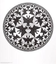 MC Escher Kreislimit IV Poster Kunstdruck Bild 65x55cm