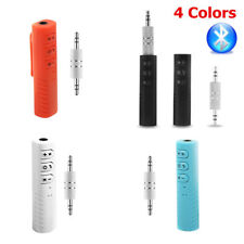 3.5mm Wireless Bluetooth Receiver Adapter AUX Audio Stereo Music Home Car Mic UK