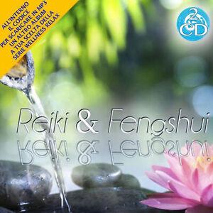 2 CD Reiki e Fengshui Relax Music World Music Wellness Relax + MP3 Omaggio
