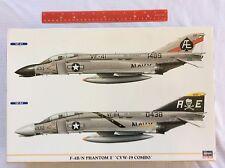 Hasegawa F-4B/N Phantom II CVW-19 Combo 1:72 Military Aircraft Model Kit 00942