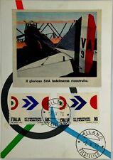 Cartolina Aviazione - Il Glorioso Aereo SVA Fedelmente Ricostruito Non Viaggiata