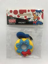 Disney Mickey Mouse And Friends Magnet: Donald Donut (TKP)