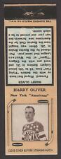 1934-36  DIAMOND MATCHBOOKS TYPE-2  HARRY OLIVER   INV A3056