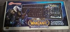 Zboard steel series World of Warcraft Wrath of The Lich King keyboard complete