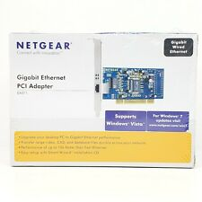 Netgear Gigabit Ethernet PCI Adapter Card 10/100/1000 GA311NA | Brand New Sealed