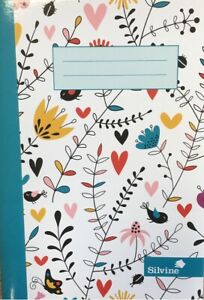 A5 Notebook Marlene West 4 Assorted Design 80 pages Ruled Feint with Margin X 1