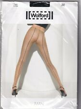 Collant WOLFORD IMAN coloris Black/Black. Taille M. Tights.