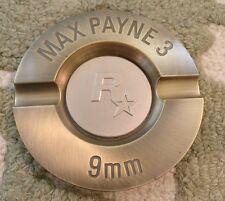 Rockstar Games Max Payne 3 bullet ashtray rare collectors piece