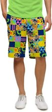 LOUDMOUTH shorts LM GREATEST HITS mens GOLF FLAT FRONT 2702 size 32 34 36 46