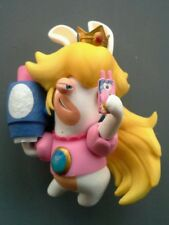 Figurine LAPIN CRETIN princesse PEACH env 8 cm-  Kingdom Battle MARIO