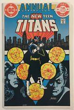 The New Teen Titans Annual #2 NM- 9.2 WP 1st Appearance Vigilante DC Comics 1983