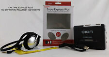 Ion Tape Express Plus Tape to Digital Converter & Player with Headphones - No Cd