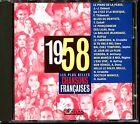 LES PLUS BELLES CHANSONS FRANCAISES - 1958 - CD COMPILATION ATLAS