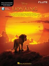 The Lion King for Flute Instrumental Play-Along Book and Audio New 000303492