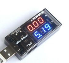USB Charger Doctor Digital led  Current Voltage Charging battery Volt Amp meter