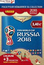 Panini France sa Coupe du monde 2018 Stickers Album 3 Pochettes (1 2 Offe...