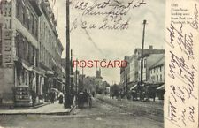 pre-1907 FRONT STREET LOOKING WEST FROM PARK, AVE., PLAINFIELD, N. J. 1907