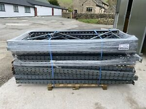 Heavy Duty Dexion Warehouse Racking Uprights 2.12 metres high