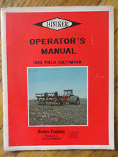 Hiniker 1530 Field Cultivator OPERATORS MANUAL