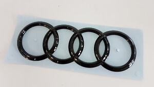 Originale Audi Segni Nero Logo Tt, R8, A3, Q2 Black Edition Stemma Anello