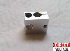 3pcs Aluminum Heater Block E3D V6 for 3D Printer Heating Block