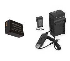 Battery + Charger for Panasonic DMW-BLC12 DMW-BLC12E DMC-G5KS DMC-G5X DMC-G5