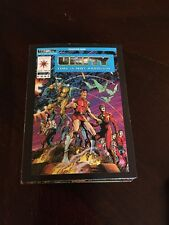 1992 Comic Images Valiant Unity Time Is Not Absolute Base Card Set #1-90