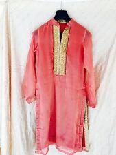Pakistani/Indian organza kurta with embriorderWedding/Party/prom/bridesmaid/ball