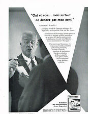 PUBLICITE ADVERTISING  1959   JOURNAL NEWSWEEK