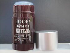 Joop Homme Wild For Men Extremely Mild Deodorant Stick 2.4 oz With Sealed