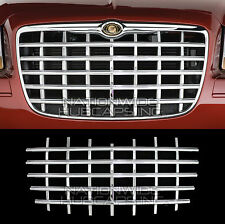 2005-10 Chrysler 300 CHROME Snap On Grille Overlay Front Grill Cover Insert Trim