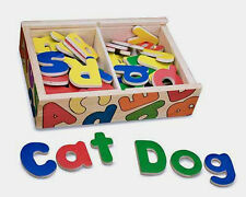 Wooden Magnetic Alphabet, Letters ~ Melissa & and Doug ~item # 448  ages 3+