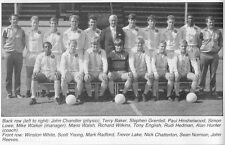 COLCHESTER UNITED FOOTBALL TEAM PHOTO>1987-88 SEASON