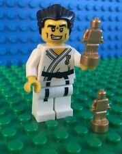 Lego KARATE MASTER black belt trophies minifig City 8684 Minifigures Series 2