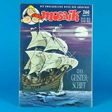 Mosaico Abrafaxe 260 | agosto 1997 | DDR DA COLLEZIONE a1 | La nave fantasma
