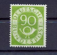 Bund 138 Posthorn 90 Pfg. postfrisch geprüft A Schlegel (xs170)