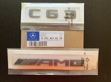 2x Mercedes-Benz 4matic Turbo Badge Emblem Decals Chrome UK