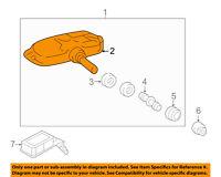 HYUNDAI OEM 11-15 Sonata-Tire Pressure Sensor 529332M000