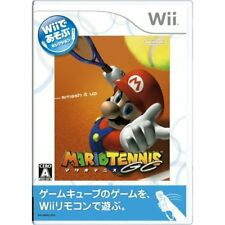 Used Wii Mario Tennis GC Wii de Asobu Japan Import